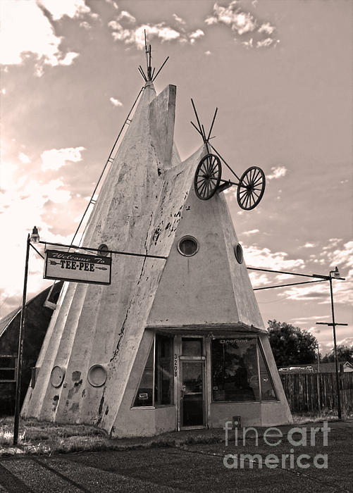 Cheyenne Wyoming Teepee - 04 Print by Gregory Dyer