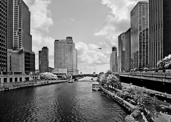 Chicago River - The River That Flows Backwards Print by Christine Till