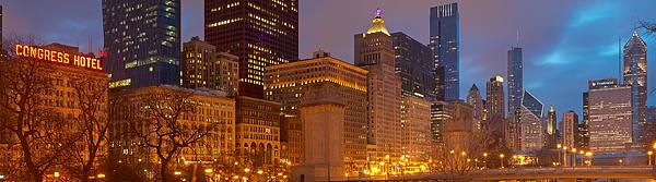 Kevin Eatinger - Chicago Skyline from Grant Park