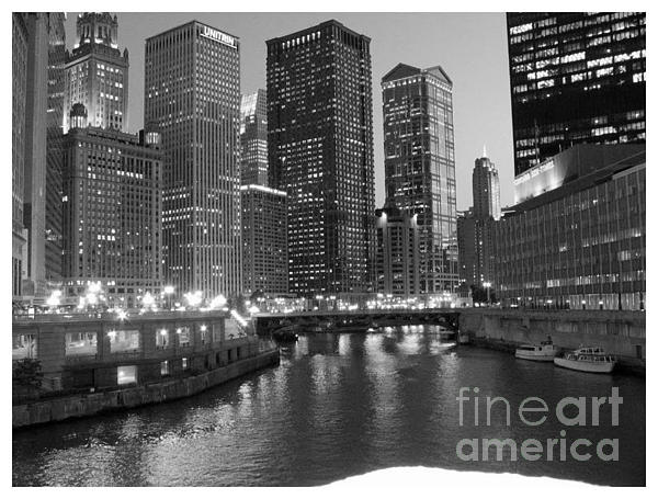 Chicago Sparkle Print by Jesse Forrister