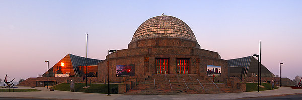 Chicago's Adler Planetarium Print by Adam Romanowicz