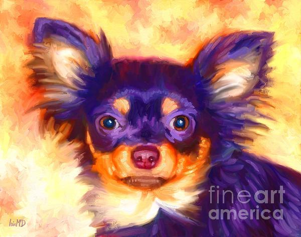 Chihuahua Art Print by Iain McDonald