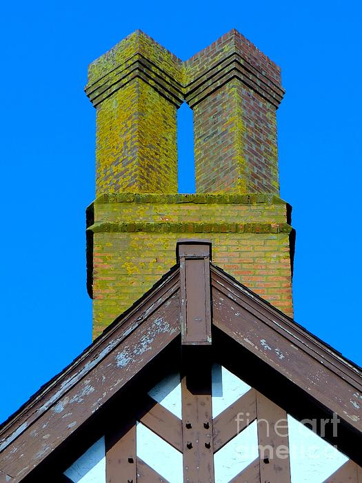 Chimney Abstract Print by Ed Weidman