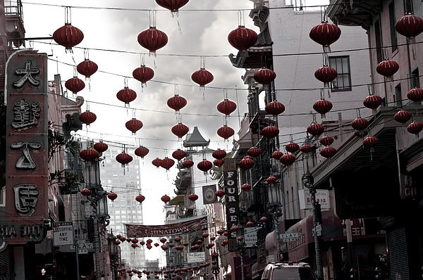 Chinatown Print by Larry Butterworth