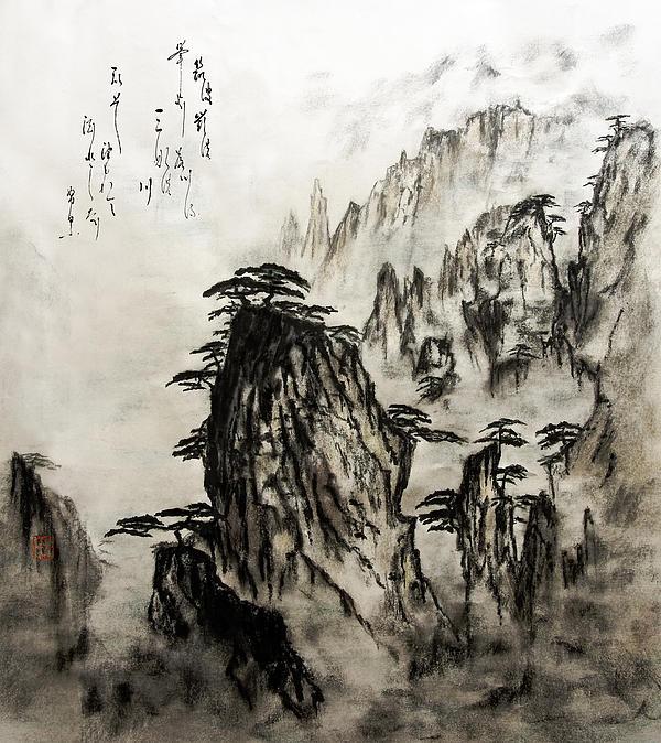 chinese art mountains - photo #21