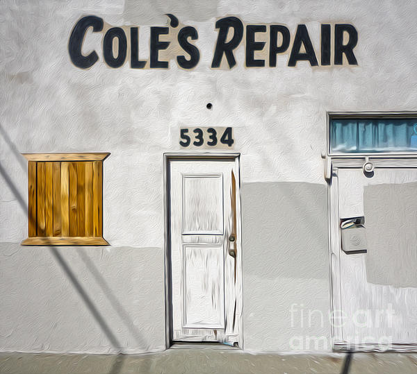 Chino - Coles Repair Print by Gregory Dyer