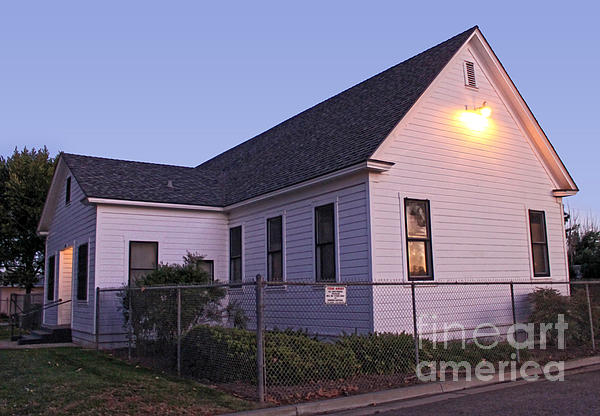 Chino Old School House - 05 Print by Gregory Dyer