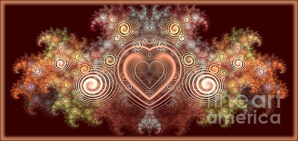 Chocolate Heart Print by Svetlana Nikolova
