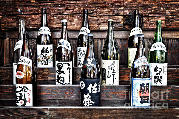 Choice Of Sake Print by Delphimages Photo Creations