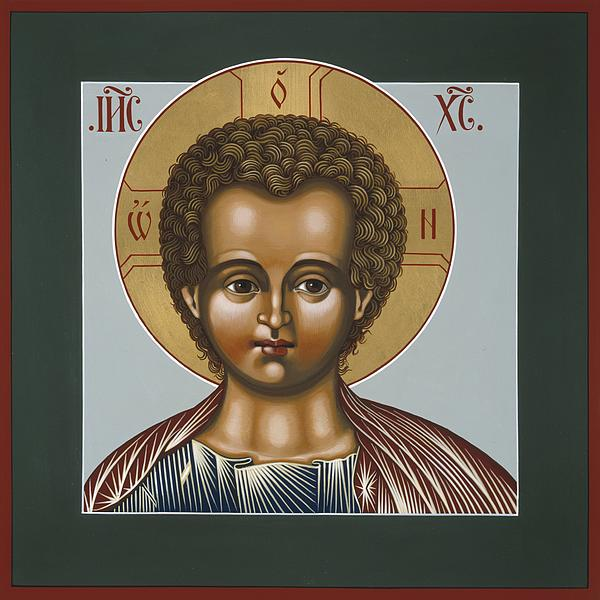 Christ Emanuel Lamb Of God Print by William Hart McNichols