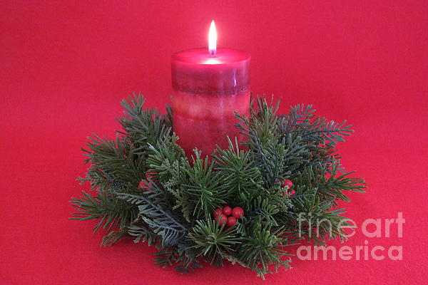 Mary Deal - Christmas Candle - 1