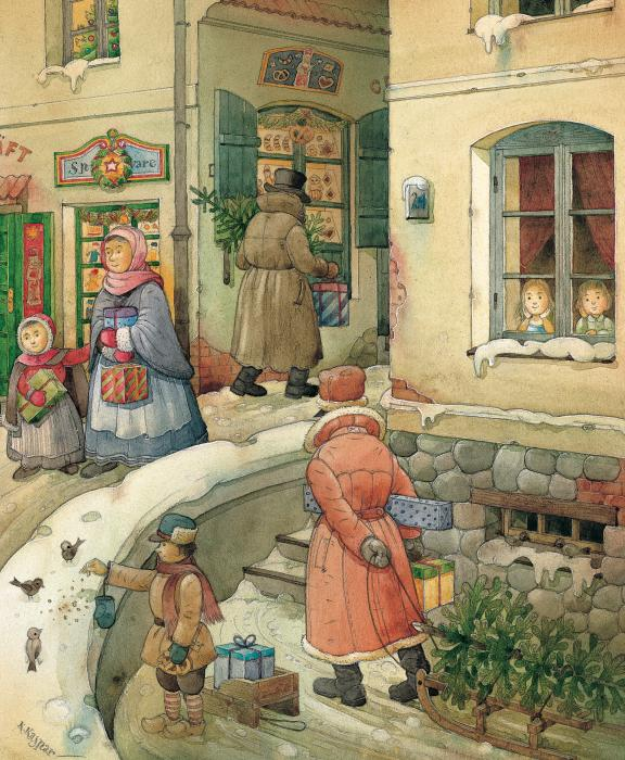 Kestutis Kasparavicius - Christmas in the Town