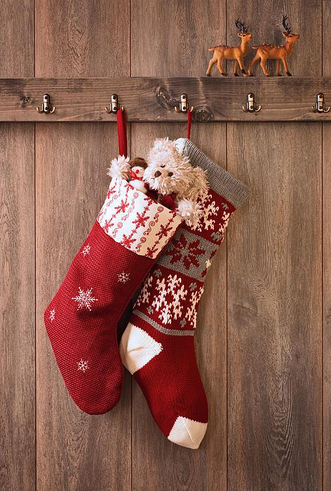 Christmas Stockings Print by Amanda And Christopher Elwell