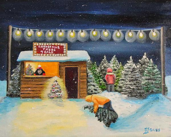 Janet Guss - Christmas Trees 4 Sale