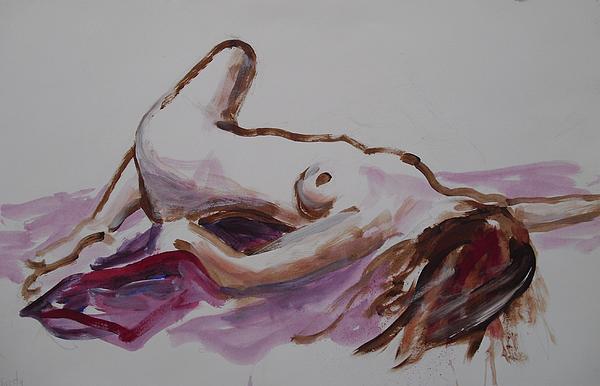 Christy Print by John  Svenson