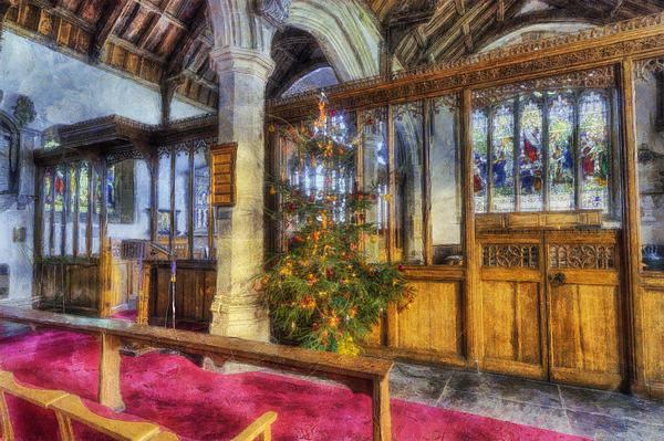 Ian Mitchell - Church at Christmas v9