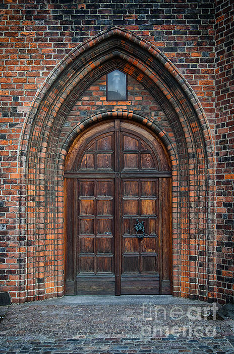 Church Door Print by Antony McAulay