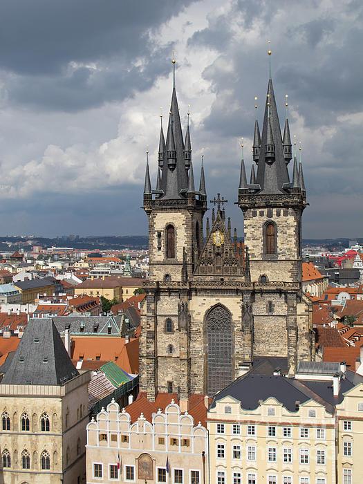 Ann Horn - Church of Our Lady Before Tyn - Prague