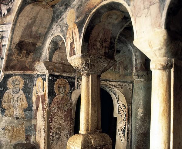 Church Of Saint Naum. Macedonia. Ohrid Print by Everett