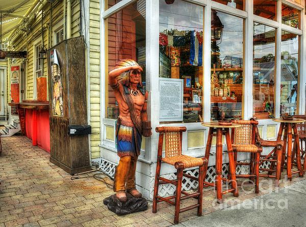 Cigars In Key West Print by Mel Steinhauer