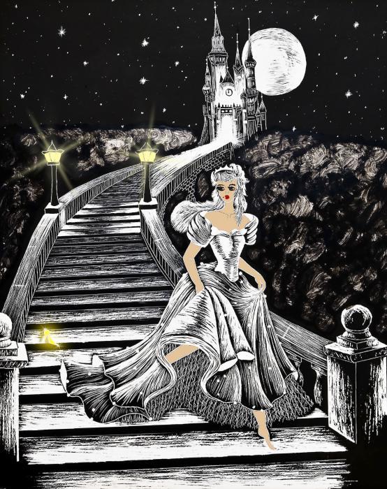Cinderella Print by Svetlana Sewell