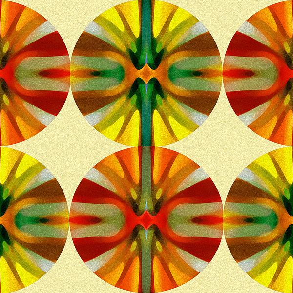 Circle Pattern 1 Print by Amy Vangsgard