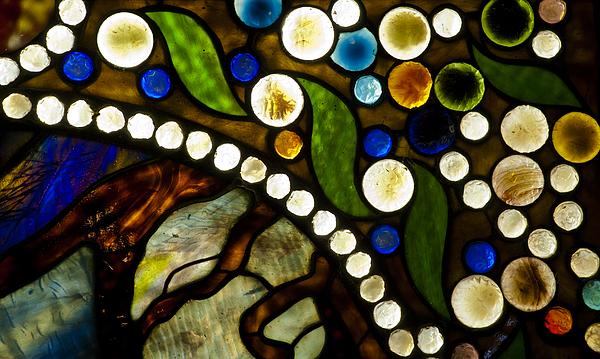Circles Of Glass Print by Christi Kraft