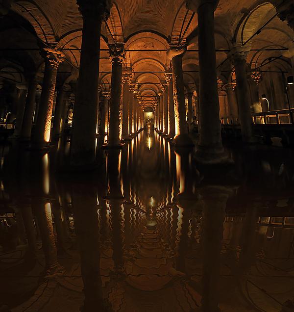 Cisterna Basilica Print by Ivana Miletic