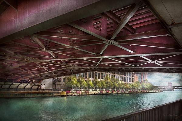 Mike Savad - City - Chicago IL - Underneath the William P Fahey Bridge