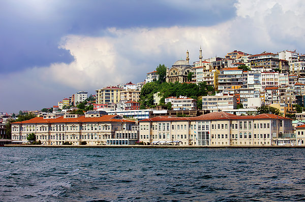 City Of Istanbul Cityscape Print by Artur Bogacki