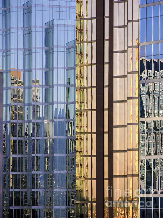 City Reflections Print by Sandra Bronstein