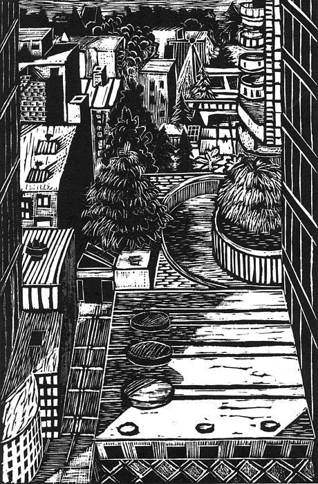 City Print by Steve Dininno