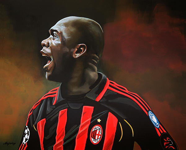 Clarence Seedorf Print by Paul  Meijering