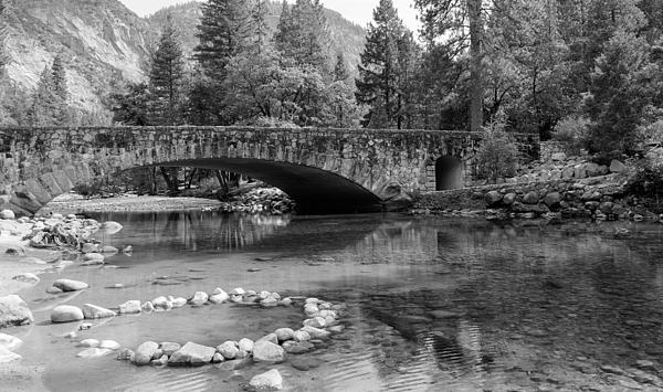 John Bailey - Clark Bridge in Yosemite Valley
