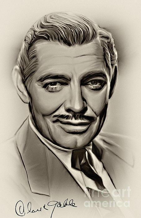 Andrzej Szczerski - Clark Gable