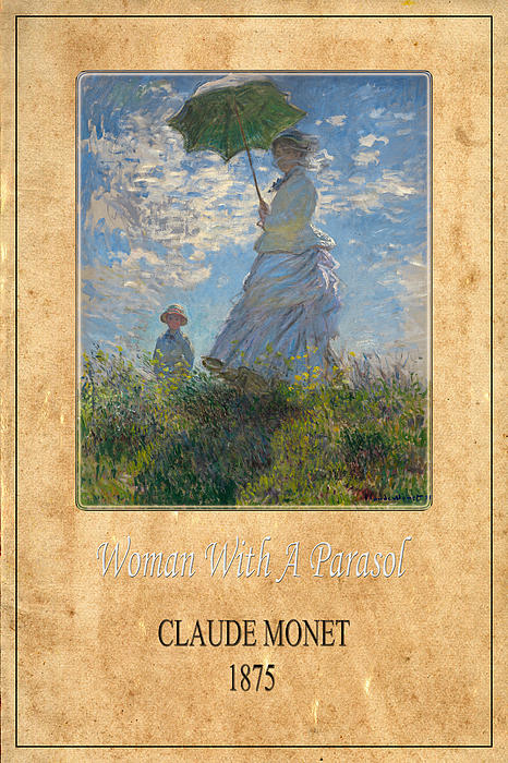 Claude Monet 1 Print by Andrew Fare
