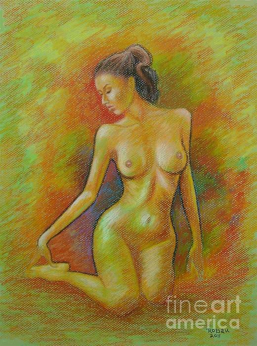 Claudia Print by Rolando Bautista