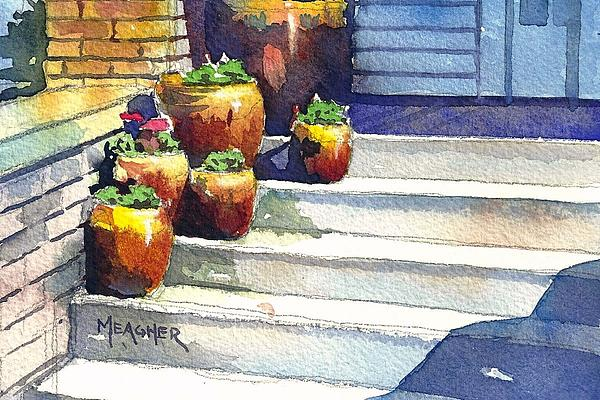 Clay Pots Print by Spencer Meagher
