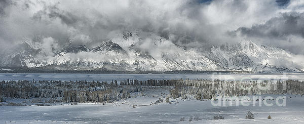 Sandra Bronstein - Clearing Skies in the Grand Tetons