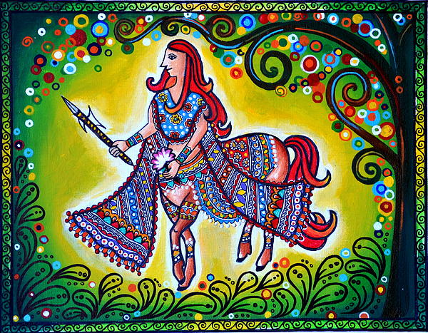 Clement Combatant Print by Deepti Mittal