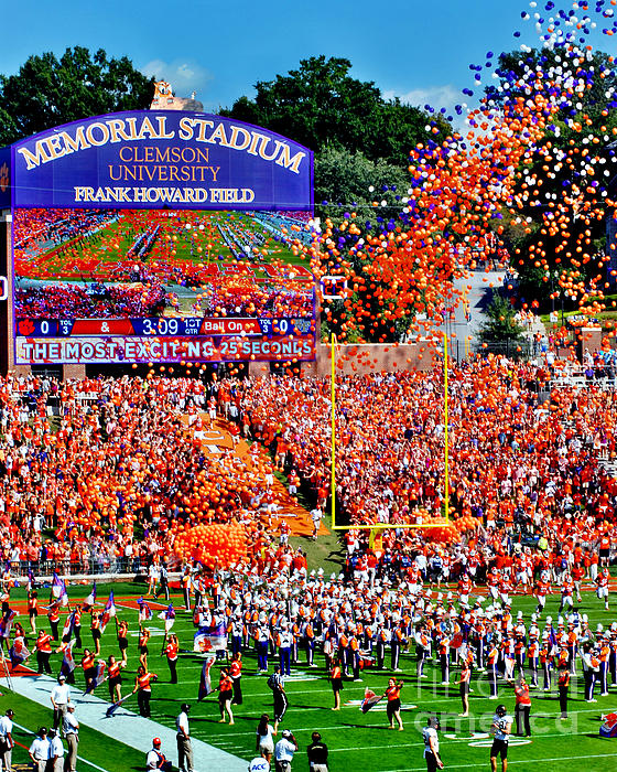 Jeff McJunkin - Clemson Tigers Memorial Stadium