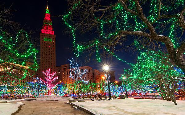 Cleveland Christmas By Kenneth Sponsler