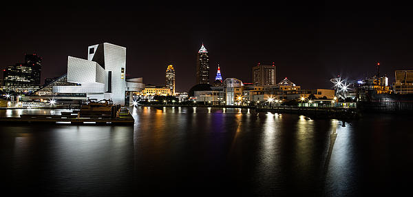 Dale Kincaid - Cleveland Lakefront Nightscape