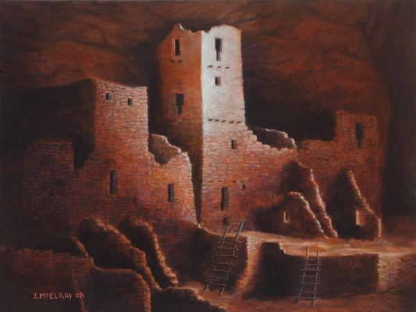 Cliff Palace Print by Jerry McElroy