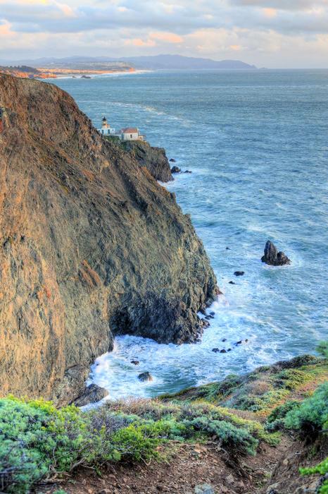 Cliffs Print by JC Findley