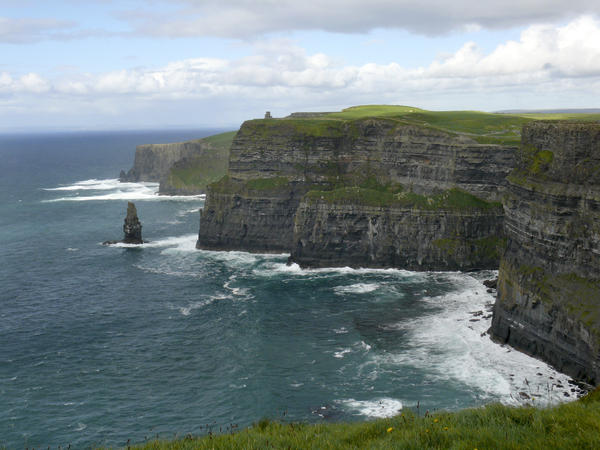 Cliffs Of Moher 3 Print by Mike McGlothlen