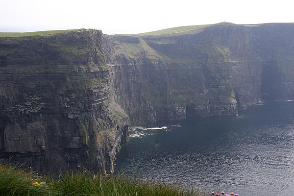 Cliffs Of Moher In The Mist - Ireland Print by Christiane Schulze Art And Photography