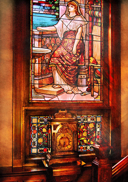 Clockmaker - An Ornate Clock Print by Mike Savad