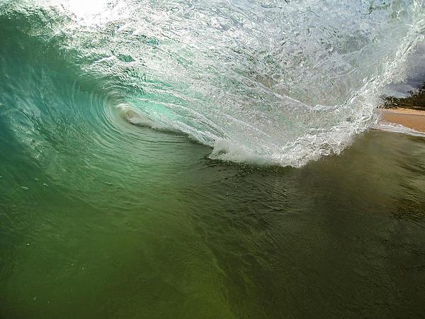 Closeout Wave Print by Brad Scott