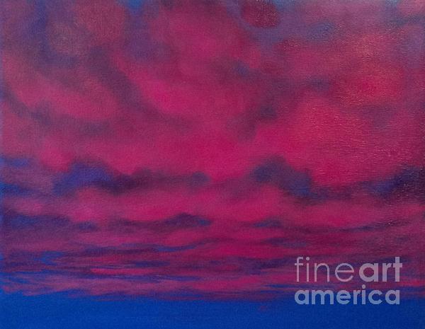 Cloud Art Print by Cynthia Vaught
